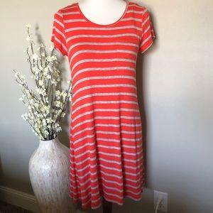 AGB Short Sleeve Tee Shirt Dress, Size Medium